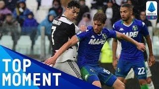 Cristiano Ronaldo Ends Serie A Goal Drought! | Juventus 2-2 Sassuolo | Top Moment | Serie A