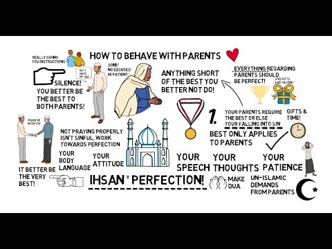 HOW TO BEHAVE WITH PARENTS - Nouman Ali Khan Animated