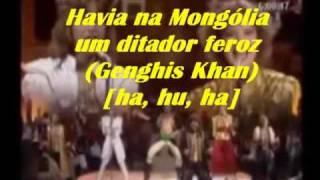 Genghis Khan- música-versão brasileira