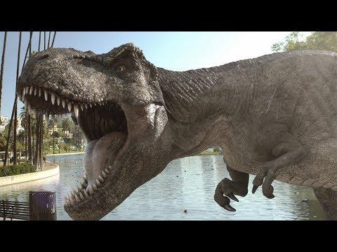 Bienvenidos a un insólito Jurassic Park