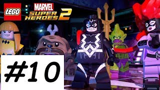 LEGO Marvel Superheroes 2 Walkthrough PART 10 A FAMILY FIGHT!