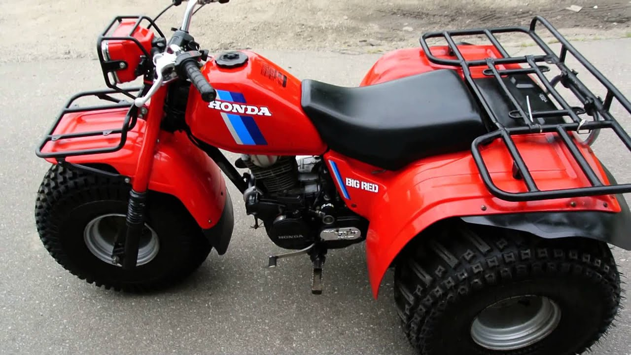 1984 honda big red atc youtube rh youtube com 1986 Honda Big Red Honda ATC 250 Big Red