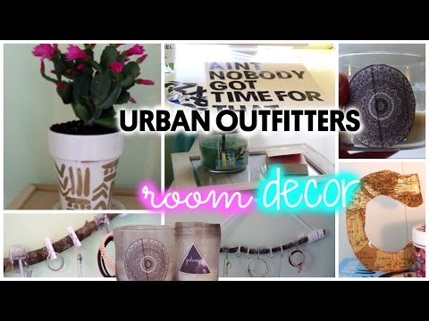 DIY Urban Outfitters Inspired ROOM DECOR!! ♡ Quick & Cheap