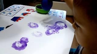 Урок рисования для Виталика