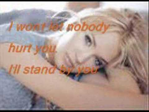 Carrie Underwood- I'll Stand By You With Lyrics!!