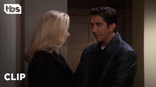 Friends: Ross' Messy Date (Season 4 Clip)   TBS