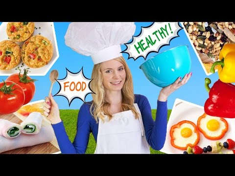 Thumbnail: How to Cook Healthy Food! 10 Breakfast Ideas, Lunch Ideas & Snacks for School, Work!