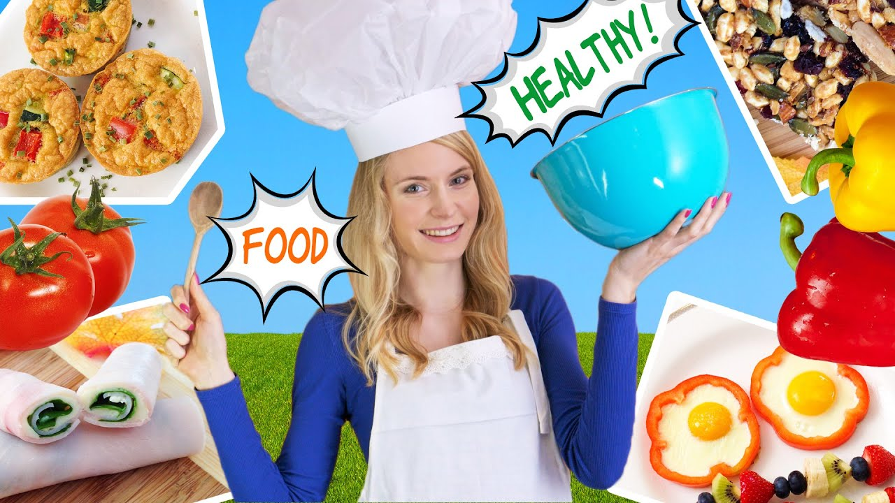 How to Cook Healthy Food! 10 Breakfast Ideas, Lunch Ideas & Snacks ...
