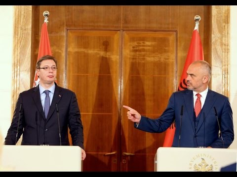 Vucic in Tirana Albania-Vučić ne Tirane !!