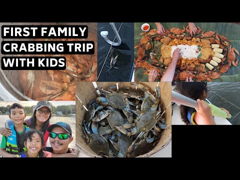 Best Time To Crab(Trotline Crabbing In Maryland With Family)
