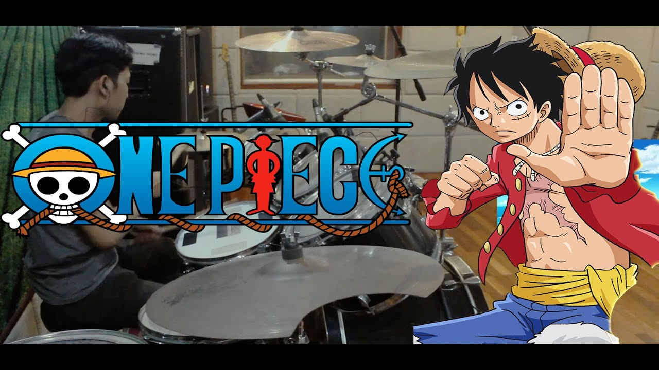 ONE PIECE OPENING 18 ( DRUM COVER ) - YouTube