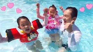 LoveStar have fun play swimming and fishing
