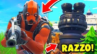"FOUND THE ROCKET. ""NEW SKIN VERTEX LEGENDY!! Fortnite ITA"