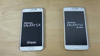 Samsung Galaxy S5 vs. Samsung Galaxy S5 Clone I9600 - Which Is Faster? (4K)