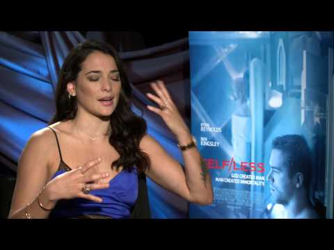 Exclusive Interview: Natalie Martinez Talks Self/Less [HD]