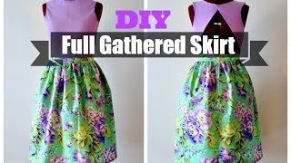How to Make a Simple Midi Skirt