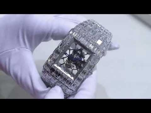 Jacob & Co. Billionaire Over $18,000,000 Diamond Tourbillon Watch Hands-On | aBlogtoWatch