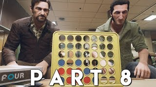 A WAY OUT Walkthrough Gameplay Part 8 - HITMAN CHASE (PS4 Pro)