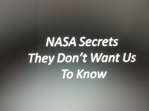 Secret Plans of NASA