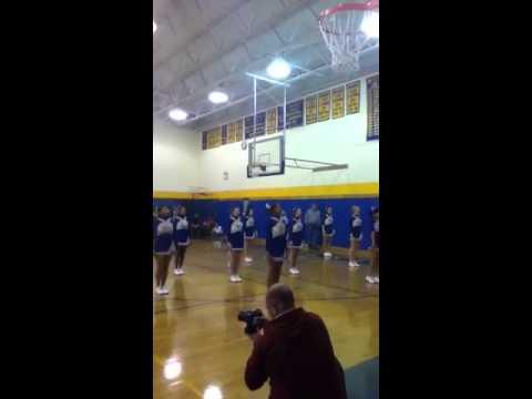 Gilbert high school cheerleaders?