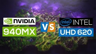 NVIDIA Geforce 940MX VS Intel UHD 620 2018! - Gaming Performance Comparison!