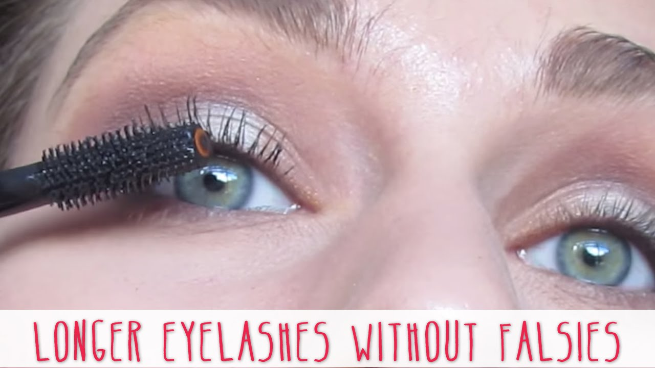 f2f59bc0c1a Longer Eyelashes Without Falsies Tutorial | Cassandra Bankson - YouTube
