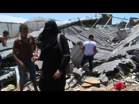 Ataques de Israel deixam 43 mortos em Gaza