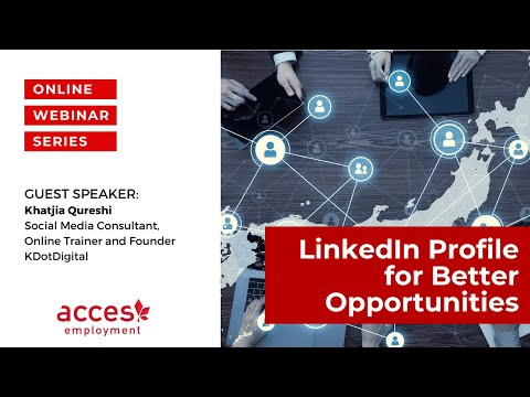 LinkedIn Profile for Better Opportunities