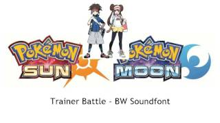 Pokemon Sun & Moon - Battle! Vs Trainer - B2W2 Devamp