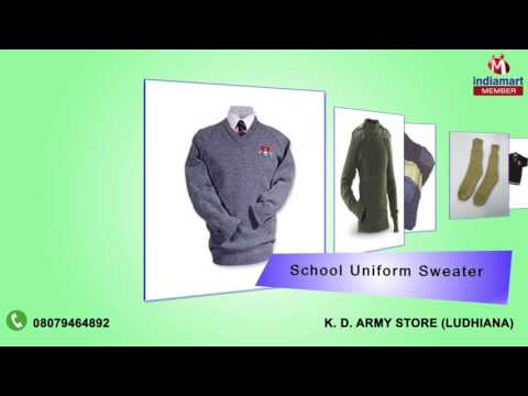 School Uniform Sweaters & Woolen Hand Gloves By K. D. Army Store, Ludhiana