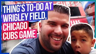 Chicago Travel Guide: Thing's To-Do at Wrigley Field, Chicago Cubs Game