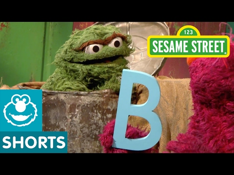 Sesame Street Telly Oscar and the letter B videominecraft