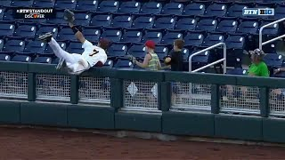 Top 10 Plays from Day One | 2018 Big Ten Baseball Tournament