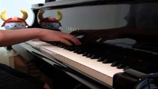 楽譜は、kmpの「ピアノ・ピース[思い出のマーニー]より」 のものを使いました。しばらく②のバージョンしか出版され てなかったのでこれ...