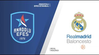 EuroLeague Playoff 5. Maç: Anadolu Efes - Real Madrid
