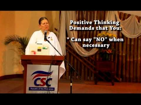 the principle of positive thinking and how to be a positive person Positive thinking steps  there is a natural kind of adrenalin principle, when the camera actually starts to speed up  put these five tips to become a .