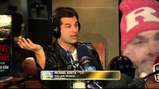 The Artie Lange Show - Michael Kosta (in-studio) Part 2