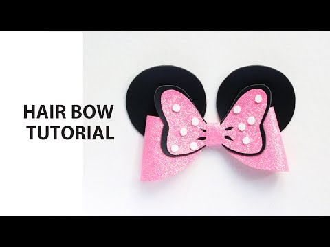How to Make a DIY Hair Bow - Hair Tutorial