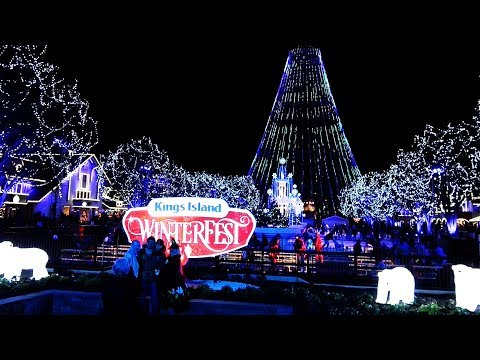 Kings Island WINTERFEST Nov 2017