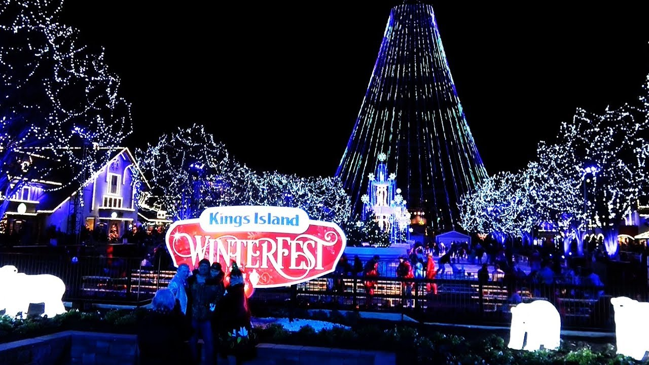 Kings Island WINTERFEST Nov 2017 - YouTube
