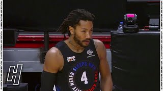 Derrick Rose Returns to Knicks! Knicks vs Heat | February 9, 2020-21 NBA Season