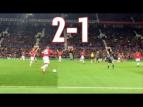 Manchester United vs CSKA Moscow, 2-1, Champions League, 05.12.2017