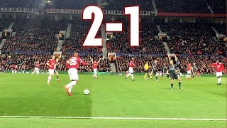 Manchester United vs CSKA Moscow 2-1 Champions League 05122017