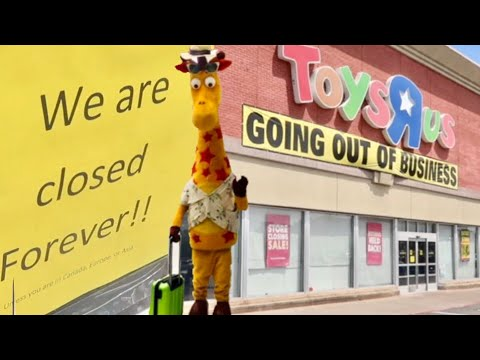 The Final Day Of Toys R Us Closed Forever Saying Goodbye Youtube