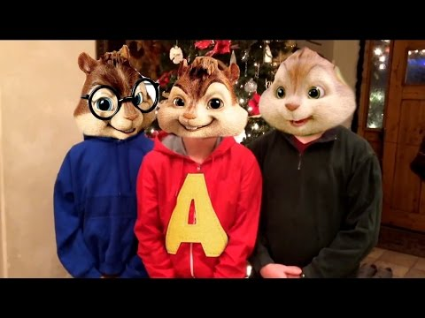 Chipmunks Christmas lip sync
