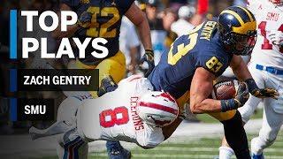 Top Plays: Zach Gentry vs. SMU | Michigan | Big Ten Football
