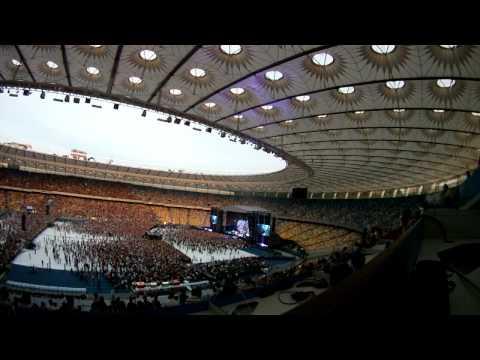 Depeche Mode in Kiev - 1 part. Концерт в Киеве на Стадионе НСК «Олимпийский»