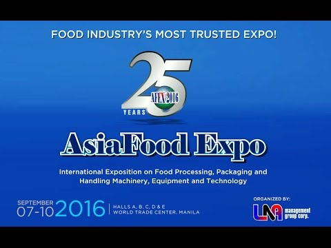 Asia Food Expo 2016 Biggest Food Trade Show