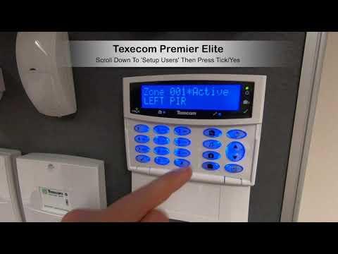 Texecom Premier Elite Omit Zone