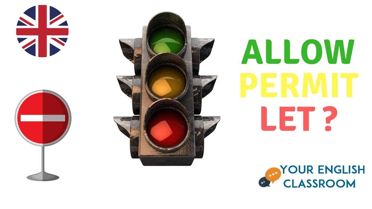 Download Allow, Permit or Let ?? Learn English Grammar